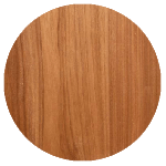 wood finish sample: butternut