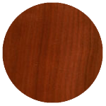wood finish sample: cherry