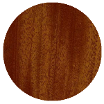 wood finish sample: mahogany