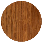 wood finish sample: butternut brown oak
