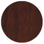 wood finish sample: walnut brown oak