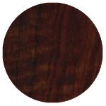 wood finish sample: walnut