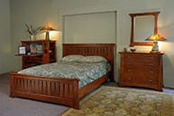 Catlin Bed dresser and mirror